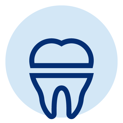 Line icon of a crown, as part of our multiple services we provide