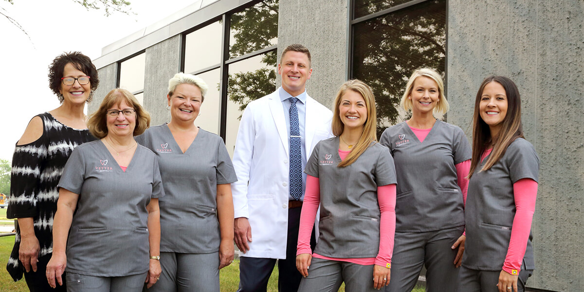 The dental team of Fargo dentist, Dr. Vetter of Vetter Dental