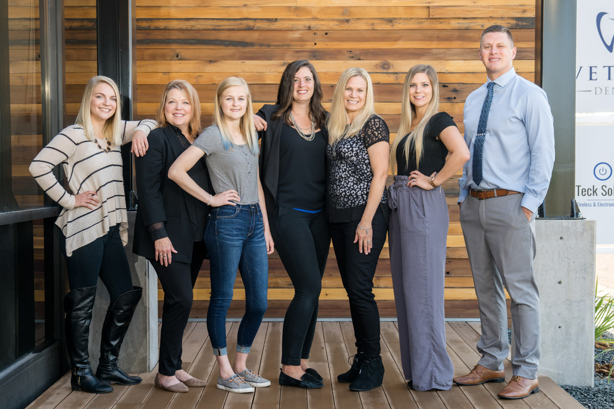 Dr. Vetter, your dentist in Fargo, ND and his dental team.